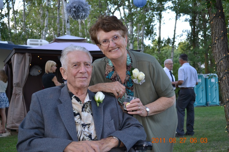 2011 my parents at Kara and Tim's wedding.  One of the last times that I saw my father before he passed away.
