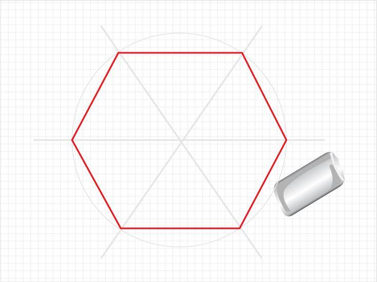 how to create hexagon - photo #2