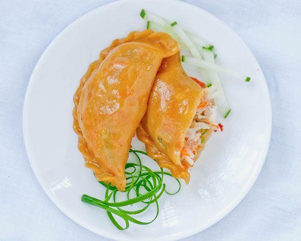 steamed vegetable dumplings | My kind of food. | Pinterest