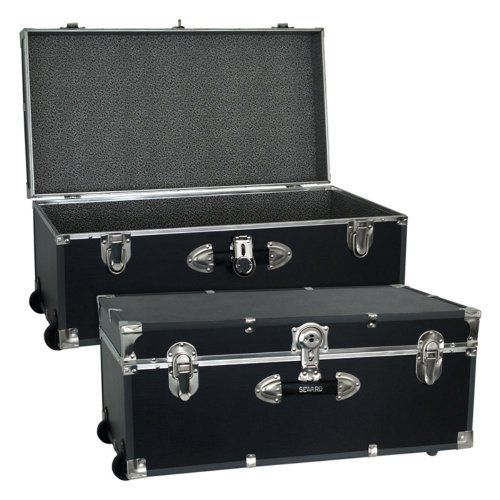 Locking Trunk With Wheels Other Furniture Pinterest