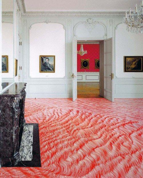 Permanent Marker Installation by Heike Weber