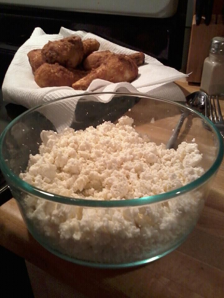 Homemade Cottage Cheese! So easy you'll be mad you've been buying it ...