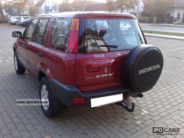 1998 Honda Cr V Towing Capacity