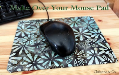 Christine & Co.-- Make over your mouse pad in time for school...