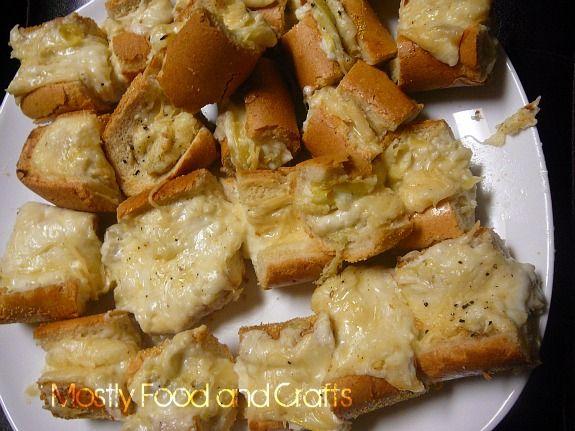 Artichoke Bread | Bread | Pinterest