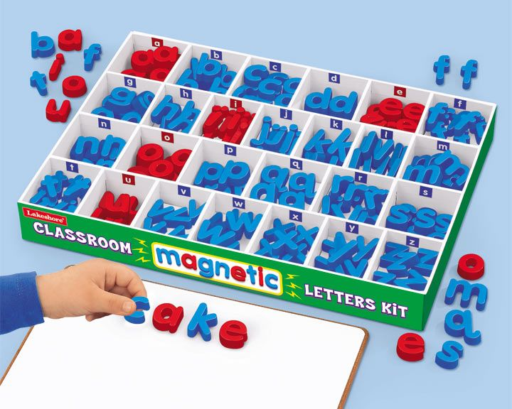 classroom magnetic letters kit learning school With magnetic letters kit
