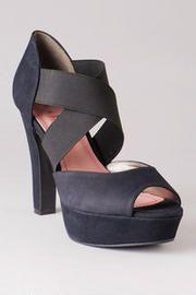 Pink and Pepper Shoes, Landra Elastic Heel