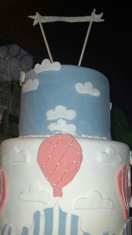 blue vintage baby shower cake party ideas pinterest