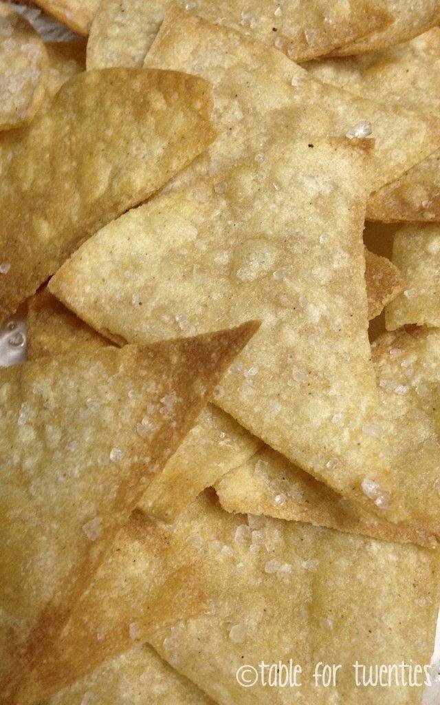 Homemade Tortilla Chips | Recipe