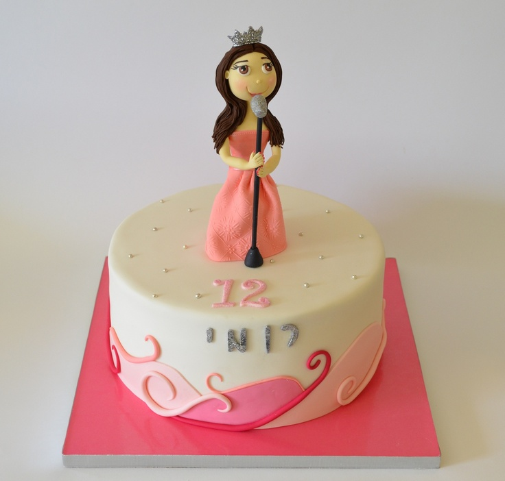 Cake Design Ideas Music : Cute singer cake - Matokilicious Cakes - My very own ...