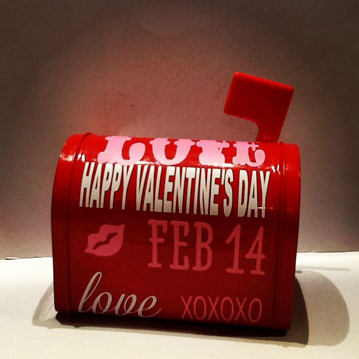 valentine day mailbox covers