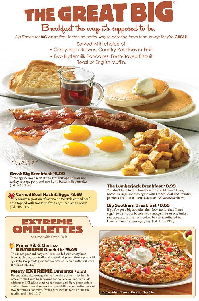 breakfast menu for valentine's day