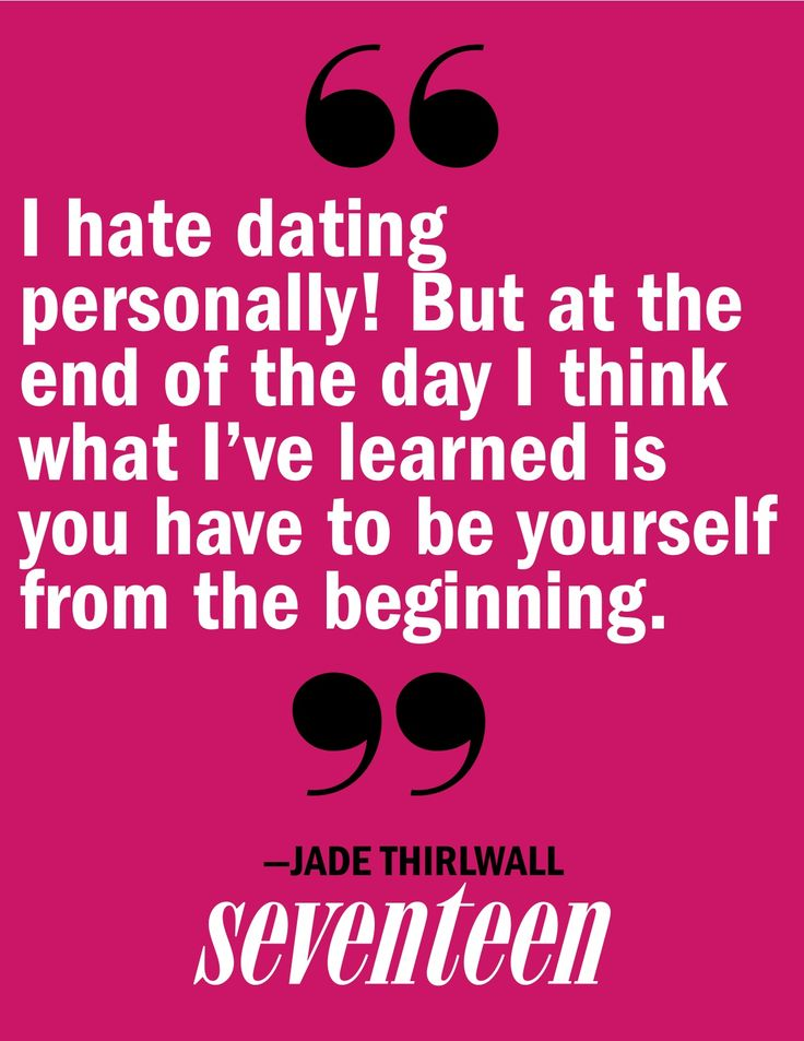 Dating hate quotes