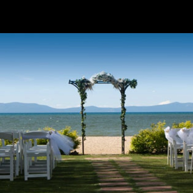 North Tahoe Beach Wedding