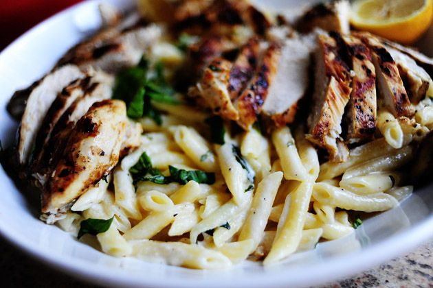 Grilled Chicken with Lemon Basil Pasta | The Pioneer Woman Cooks | Ree ...