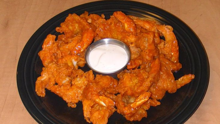is roasted buffalo shrimp on caesar salad oven roasted buffalo shrimp ...