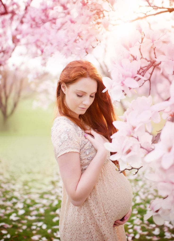 Spring Maternity | Maternity Session Ideas | Pinterest