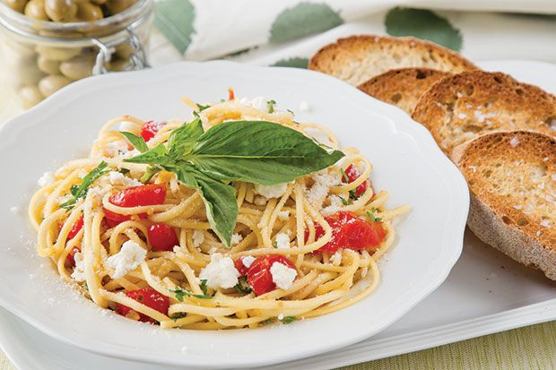 Roasted Cherry Tomato and Ricotta Pasta | Fresh Canteen Meals | Pinte ...