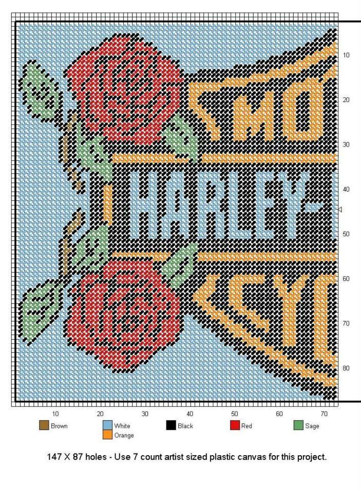 Harley Roses 2 of 3