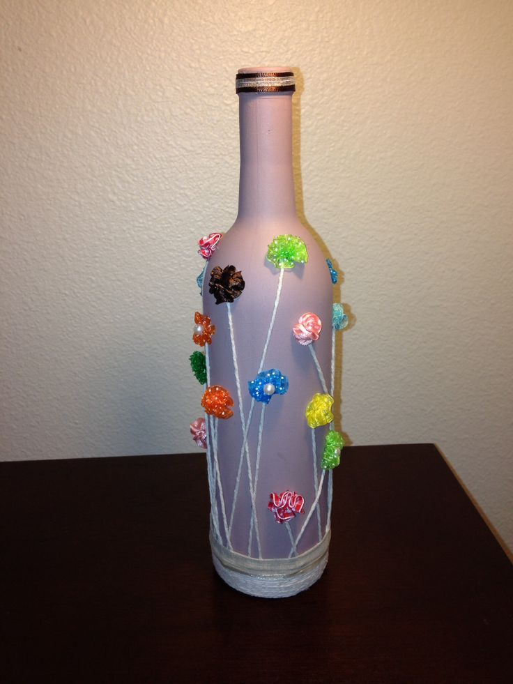 wine bottle art glass works pinterest