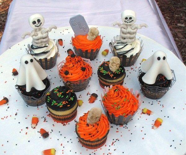 Easy Halloween cupcake decorations halloween!!!! Pinterest