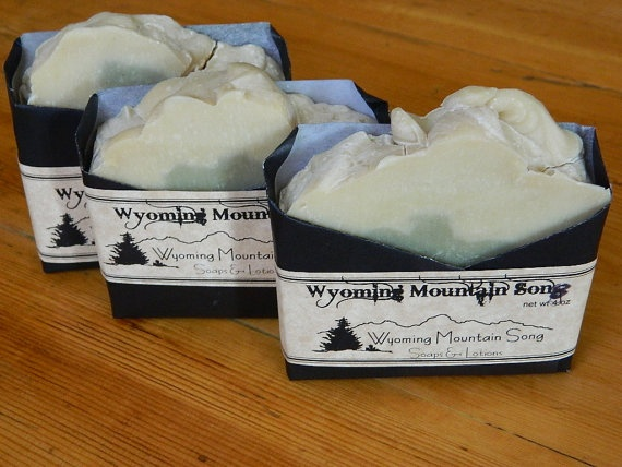 Wyoming Mountain Song Soap by WyomingMtnSongSoaps on Etsy, $4.50