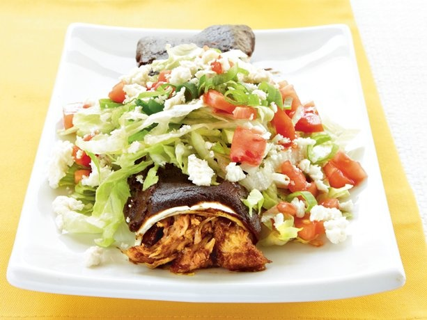 Chicken Mole Enchiladas Supreme | Recipe