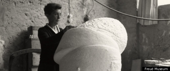 """Louise Bourgeois At The Freud Museum In """"The Return Of The Repressed"""""""