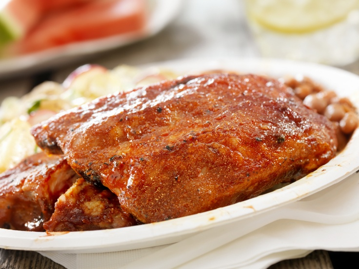 ... Potato Salad, Granny's Baked Beans & Southern Grilled Barbecue Ribs