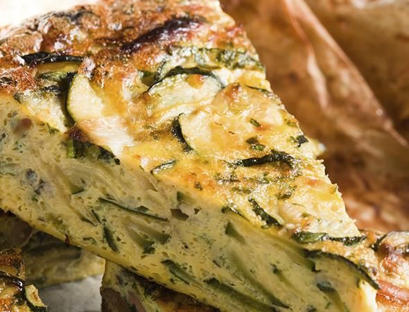 Zucchini and Cheese Frittata | Recipes/Food | Pinterest
