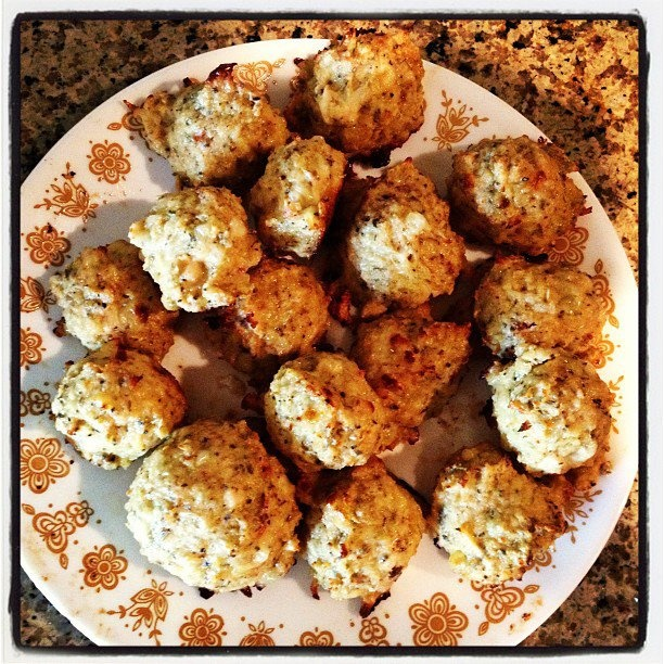 Cheesy chicken meatballs | My food creations! | Pinterest