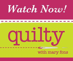 Quilty is an online quilting program provided to Quilter's Club of America, Fons & Porter, and QNNtv.com, with some episodes on YouTube.