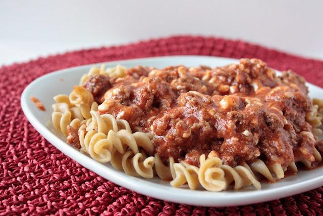 Momma Hen's Kitchen: Stovetop Rotini Lasagna