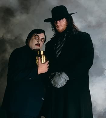 Paul Bearer  amp  The UndertakerUndertaker And Paul Bearer