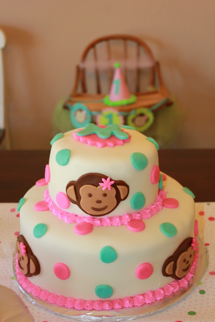 Monkey Birthday Cake Fondant Image Inspiration of Cake and