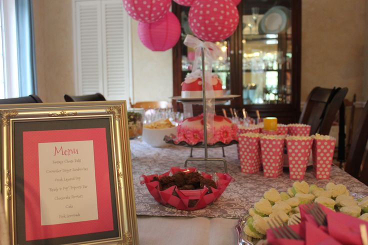 baby shower table baby shower ideas pinterest