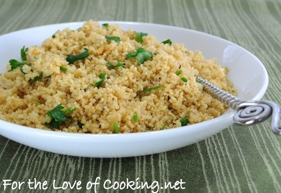HERBED COUSCOUS PILAF | Healthy Eating | Pinterest