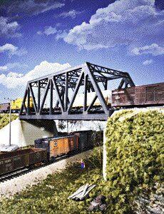 Walthers cornerstone series kit ho scale double-track truss bridge