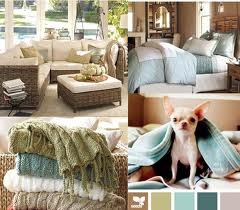 Rustic Coastal Chic color palette … replace the chihuahua with a pug & it's perfect!!!