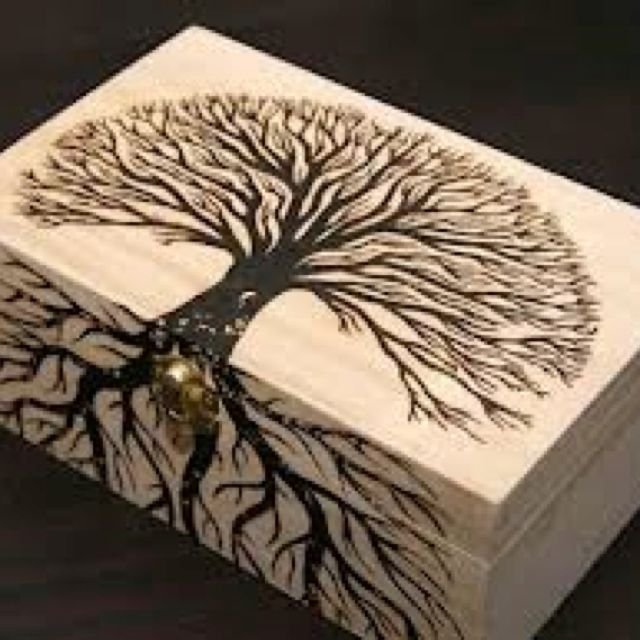 Pyrography tree patterns bing images for Wood burning design ideas