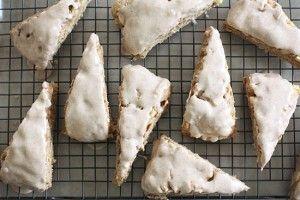 Apple Spiced Scones with Spiced Glaze   Recipe-Hub   Pinterest