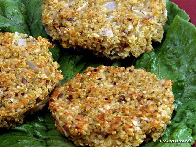 Baked Quinoa Patties - Cooking Quinoa