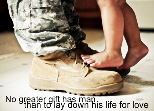 """no greater gift has man, than to lay down his life for love"" For You - Keith Urban"