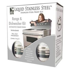 12 oz. Stainless Steel Appliance Paint Kit-FG-RDKIT / 19 SQ FT at The ...