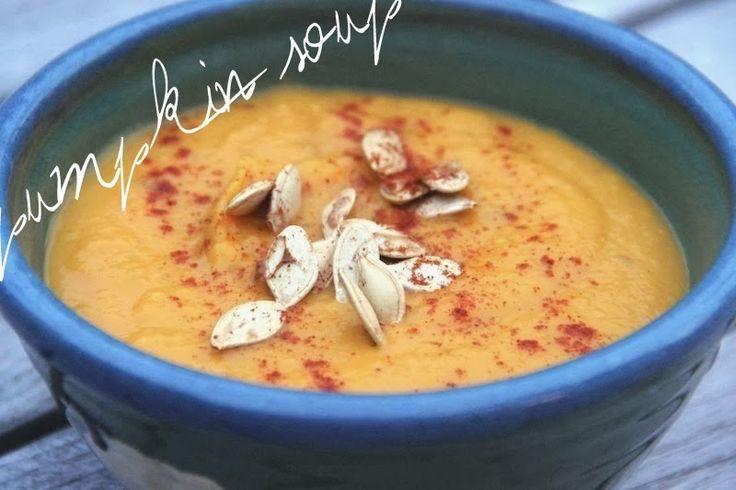 Thai Spiced Pumpkin Soup Recipe | Soups | Pinterest