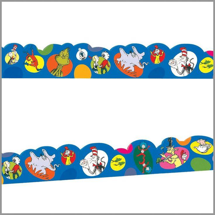 Dr. Seuss Bubbles Decorative Border Trim | Dr. Seuss School Supplies ...
