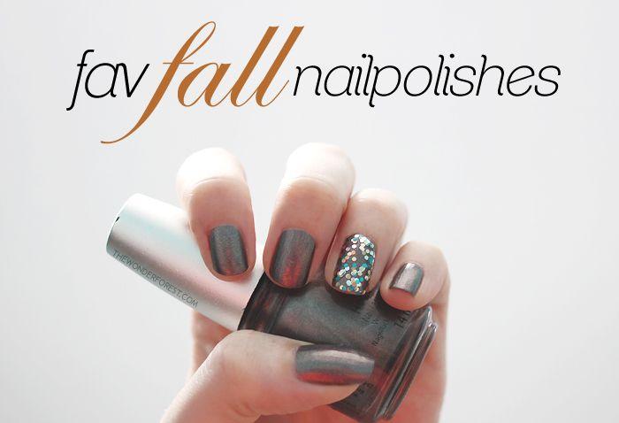 Favourite Fall Nailpolishes