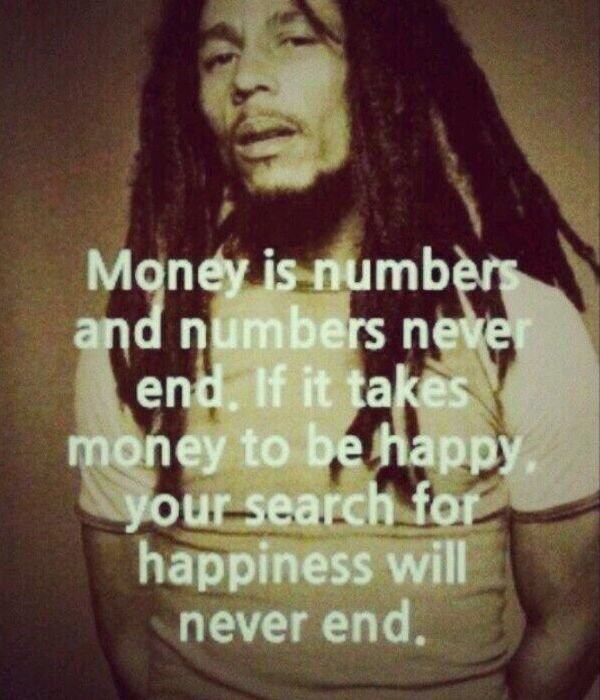 Money doesn't buy Happiness.