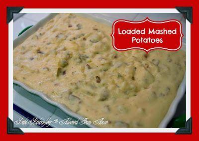 Loaded Mashed Potatoes   Food - Vegetables   Pinterest