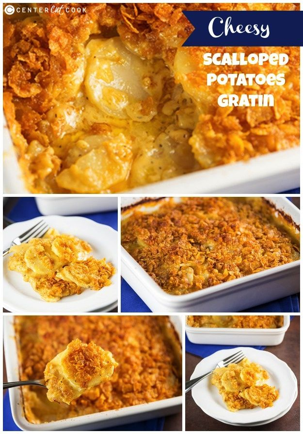Cheesy Scalloped Potatoes Gratin - What makes these unique .. they are ...